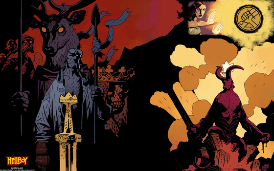 early Hellboy BPRD collage by Quacthulhu