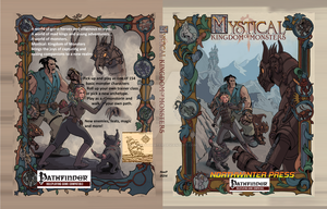 Mystical: Kingdom of Monsters Pathfinder Cover by mnorthwinter