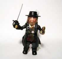 Barbossa Custom Minimate by luke314pi