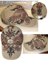 Skull Triad Cap by kevinesque