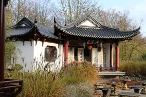 Chinese garden Stock 21 by Malleni-Stock