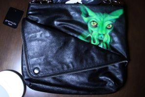 Cthulhu-cat handbag by Innom