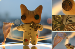 Plushie: Butterfly Catcher by delusional-dreams