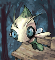 celebi by SailorClef