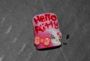 Hello Kitty Nail by Bexiieeee