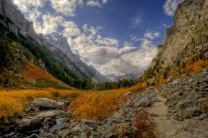 Cascade Canyon by Minorhero
