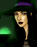 Witch -Collab- by AngelLale87