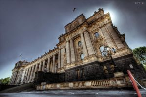 hdr - parliament of victoria by mayonzz