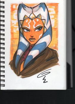 Ahsoka Tano by Grant Gould by Def-Force