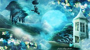 travel in the sky by Lolita-Artz