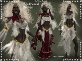 Shahrazad Ilythiiri RED WEBS by Elvina-Ewing