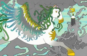 Snake-haired Pegasus