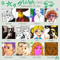 2012 summary art - stc019 by Cappuccino-Noisette