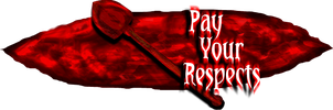 Pay Your Respects Logo by shadefalcon