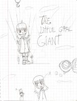 La peque gigante -anime xD- by animetomodachi
