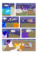 Sonic the Hedgehog the Comic pg 9 by bulgariansumo