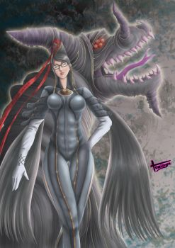 Bayonetta and Gomorrah by Temizuya