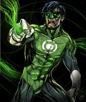 Green Lantern by rocketraygun