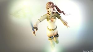 White Mage Serah: Welcome to Valhalla by LoneWolf117