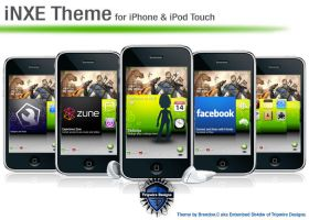 iNXE iPhone iPod Touch Theme by Tripwire-D