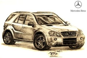 Mercedes-Benz ML63 AMG by toyonda