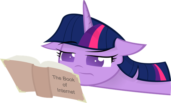 The Book of Internet - Vector by KalleFlaxx