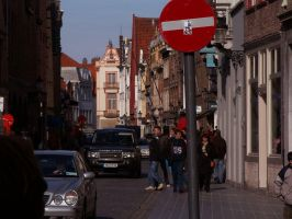 soldier in bruges by dotacy