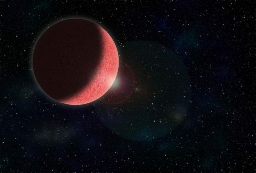 The Pink Planet by colfrankland