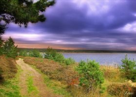Lac de Charpal by Louis-photos