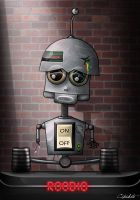 Roobio-the robot with feelings by CipSkate