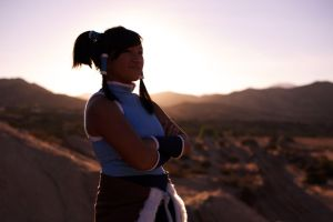 Korra Cosplay - I'm the Avatar by eloquium