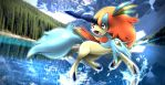 Keldeo Resolute Forme by cscdgnpry