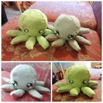 Octopus Plushies!!! by Ryvienna