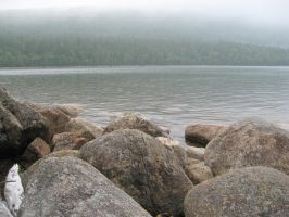 Acadia lake 5 by Reyphotos