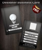 Designer Business Card by Hotpindesigns