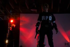 Leon S. Kennedy 'They're gone.' by Hirako-f-w