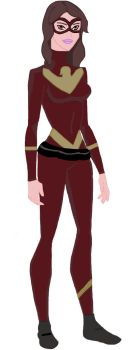 Young Justice Oc - Phoenix by lotsofsparkles1