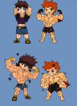 Chibi time... FIGHT!!!! by Somdude424