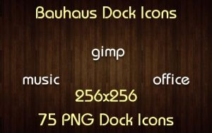 Bauhaus Dock Icons by knubbele