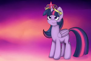 Princess Twilight Sparkle by Silky-Cotton