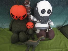 Croatoa plushies by Rei2jewels