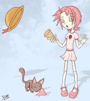 Strawberry Ice-cream by nandi