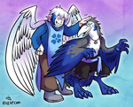 [Commission] Frost and Pohners by raizy