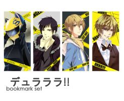 Durarara Bookmark set by aiki-ame