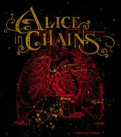 Alice In Chains - 2006 Tour T by yummytacoburp69