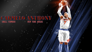 Carmelo Anthony wallpaper by chronoxiong