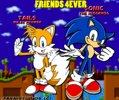SONIC AND TAILS 4EVER FRIENDS by ferni2007001