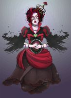 The Red Queen by StringsOnABunny