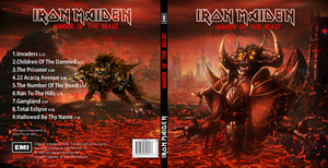 Iron Maiden CD cover (Number of the beast) by KrazyKazza