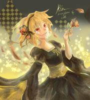 kagamine rin:aku no musume by kumage-mon